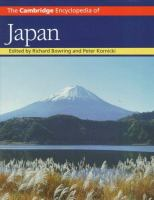 The Cambridge encyclopedia of Japan
